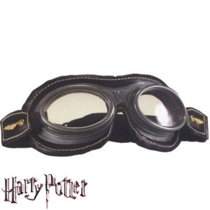 Harry Potter Quidditch Goggles - Black / One Size