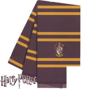 Harry Potter Gryffindor House Deluxe Scarf - Brown / One Size