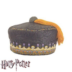 Harry Potter 'Dumbledore' Tassle Hat - Brown / One Size