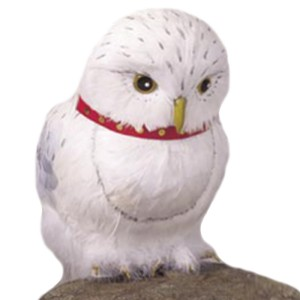 Harry Potter Owl Hedwig Prop - White / One Size