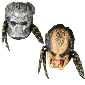 Predator Dlx Mask w/Removable Faceplate - Gray / One Size