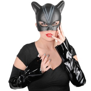 Catwoman Accessory Kit Adult - Black / One Size