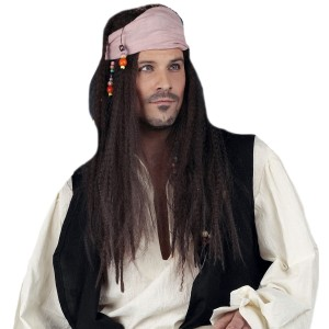 Deluxe Gypsy Pirate Wig