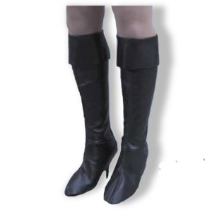 Pirate Girl Boot Tops - Black