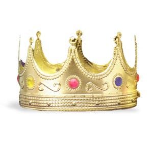 Regal King Crown - Red / One-Size