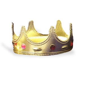 Regal Queen Crown - Red / One-Size