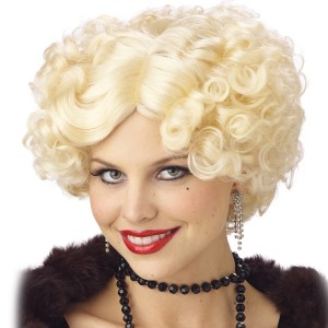 Jazz Baby Wig Blonde Adult - Yellow / One Size
