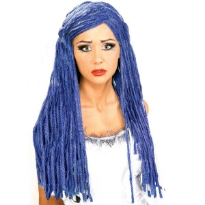 Corpse Bride Wig - Blue / One Size
