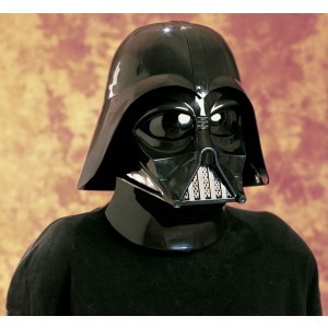 Star Wars Darth Vader 2 Pc. Inj. Molded Mask - Black / One Size