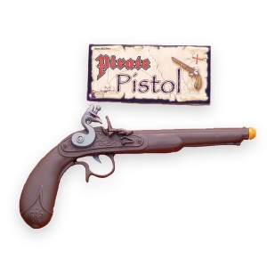 Pirate Pistol - Brown / One Size