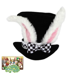 Alice In Wonderland - Classic White Rabbit Hat - White / One Size