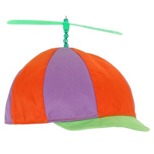 Alice In Wonderland - Classic TweedledeeTweedledum Hat - Red / One Size
