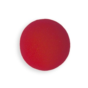 Bozo Red Foam Nose - Red / One Size