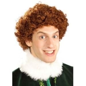 Buddy Elf Wig Adult - Brown / One Size