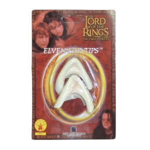 Elf Ear Tips - Lord of the Rings - Tan / One Size