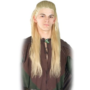 Legolas Wig - Lord of the Rings - White / One Size