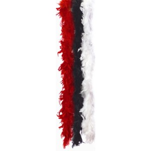 Feather Boa 72 Inch - Red