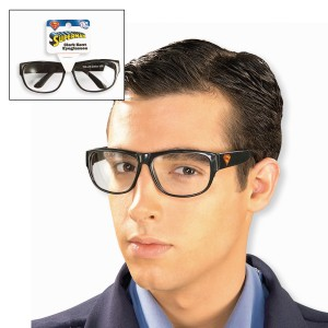 Clark Kent Glasses - Black / One Size