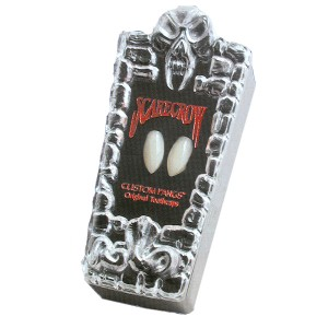 Scarecrow Custom Fangs - White / One Size