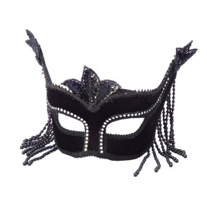 Black With Stones Mask