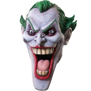 The Joker Mask - White / One Size