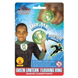 The Green Lantern Ring - Green / One Size