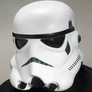 Stormtrooper Collectors Helmet - White / One Size