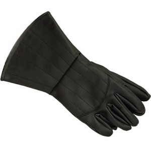 V for Vendetta Gloves - Black / One Size