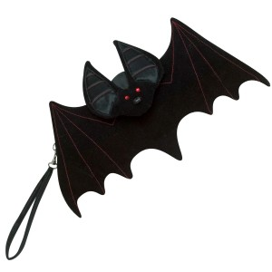 Bat Clutch - Black / One Size