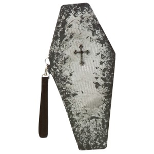 Coffin Clutch - Gray / One Size