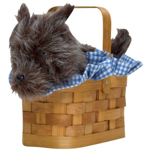 Doggie Basket Handbag - Brown / One Size