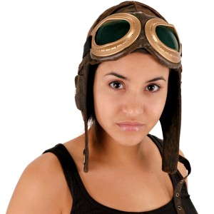 Aviator Brown Hat - Brown / One Size