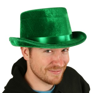 Green Top Hat Adult - Green / One-Size