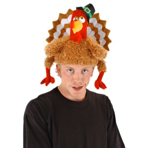 The Gobbler Hat - Brown/Red / One-Size