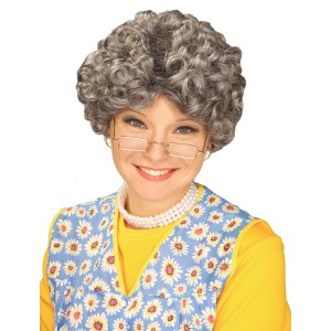 Mom Wig - Grey - Gray / One Size