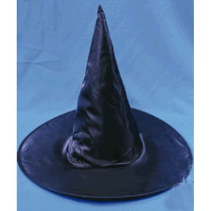 Witch Hat, Adult - Black / One-Size