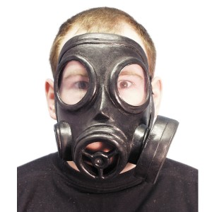 Gas Mask - Black / One-Size