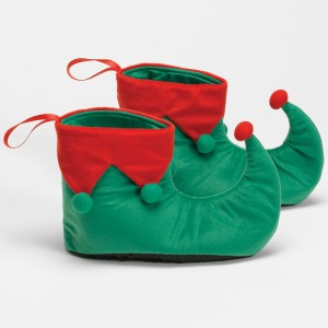 Elf Shoes Adult - Green / One-Size (up to size 12)
