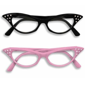 Catseye Glasses - Pink