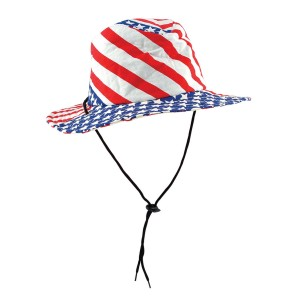Patriotic Flag Hat - Red/White/Blue / One-Size
