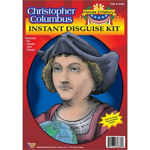 Heroes in History - Christopher Columbus Accessory Kit - Black / One Size (12 and Up)