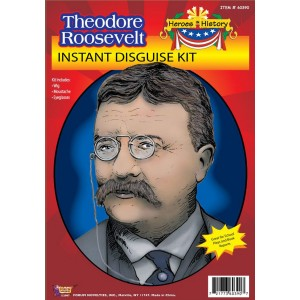 Heroes in History - Theodore Roosevelt Accessory Kit - Black / One Size (12 and Up)