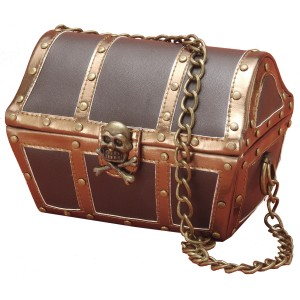 Pirate Purse - Brown / One Size
