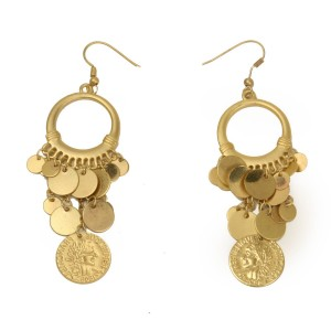 Grecian Earrings - Gold / One Size