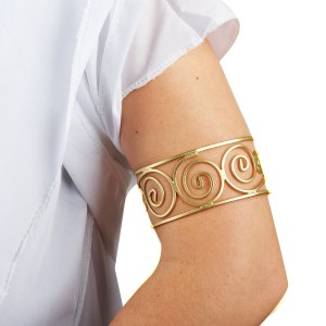 Grecian Arm Cuff - Gold / One Size