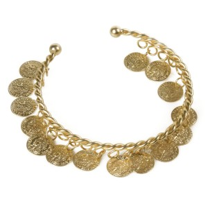 Grecian Coin Bracelet - Gold / One Size