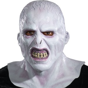Harry Potter Voldemort Deluxe Mask - Gray / One Size