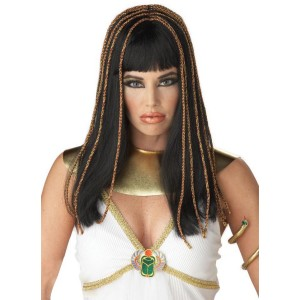Egyptian Princess Wig - Black - Black / One Size