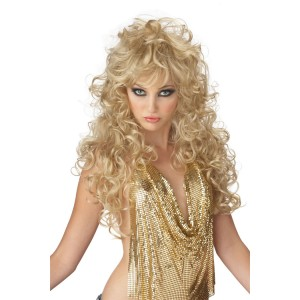 Seduction Blonde Wig - Yellow