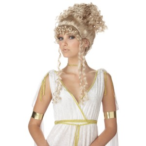 Athenian Goddess Wig - Blonde - Yellow